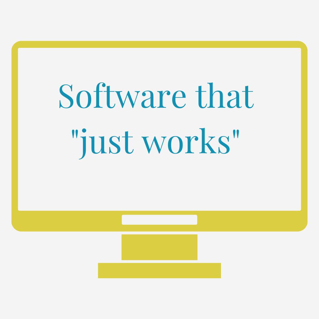 Computer graphic in yello